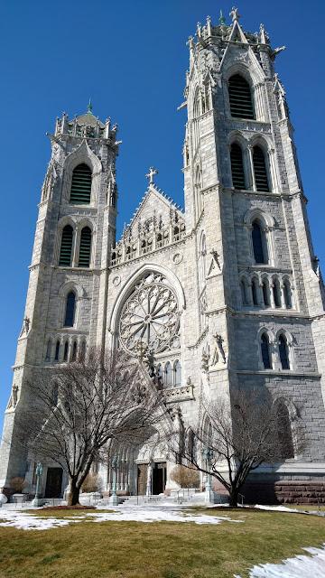 Базиліка Святого Серця. Нью-Арк. Нью-Джерсі(Cathedral Basilica of the Sacred Heart. Newark, NJ)