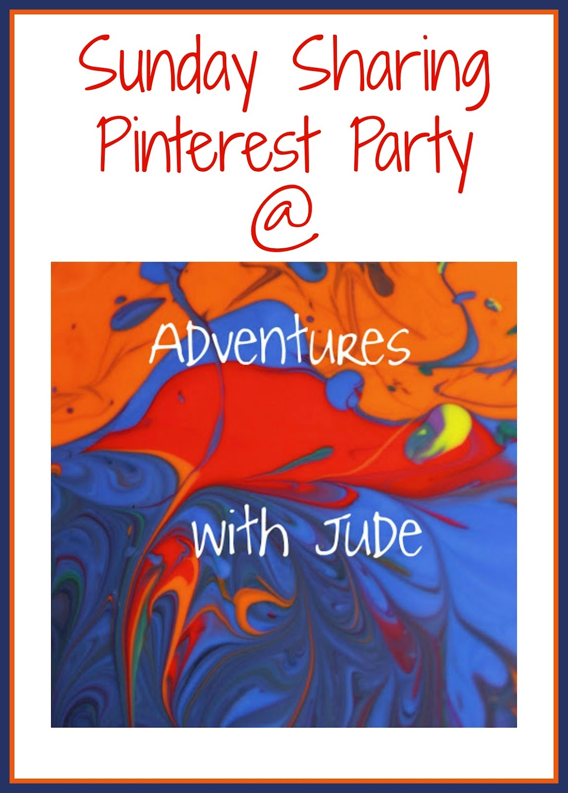 Sunday Sharing Pinterest Party at Adventures with Jude