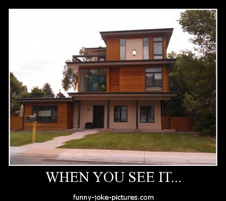 Funny When You See It House Monsters Inc