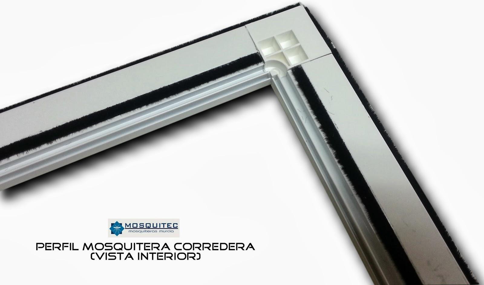 Mosquitera corredera mosquiteras murcia for Mosquiteros de aluminio