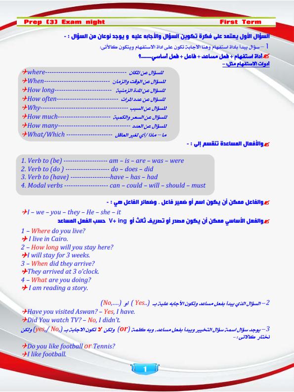 مراجعة اللغة الانجليزية للصف الثالث الاعدادي الفصل الدراسي الثاني Prep%2B3%2Bexam%2Bnight%2B2018%2Bfinals_001