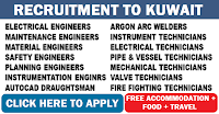 GULF JOBS - KCC & ENGINEERING COMPANY - RECRUITMENT TO