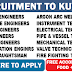 GULF JOBS - KCC & ENGINEERING COMPANY - RECRUITMENT TO KUWAIT