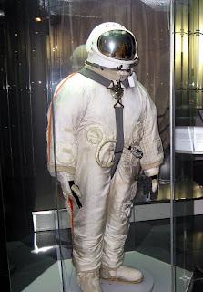 La tuta Berkut usata da Leonov durante la EVA della missione Voshkod 2
