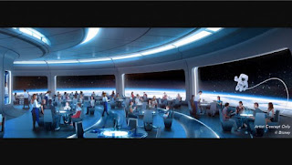 Space-Themed Restaurant Location Revealed for Future World EPCOT