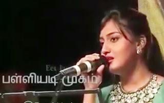 Super Singer Sowmya | Prabhakaran Song