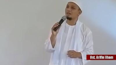 SURAT TERBUKA Ustadz Arifin Ilham: Kami Sangat Marah Atas Hinaan Ahok