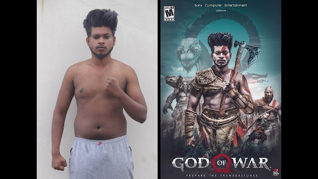 Photoshop God Of War photo Manipulation Tutorial