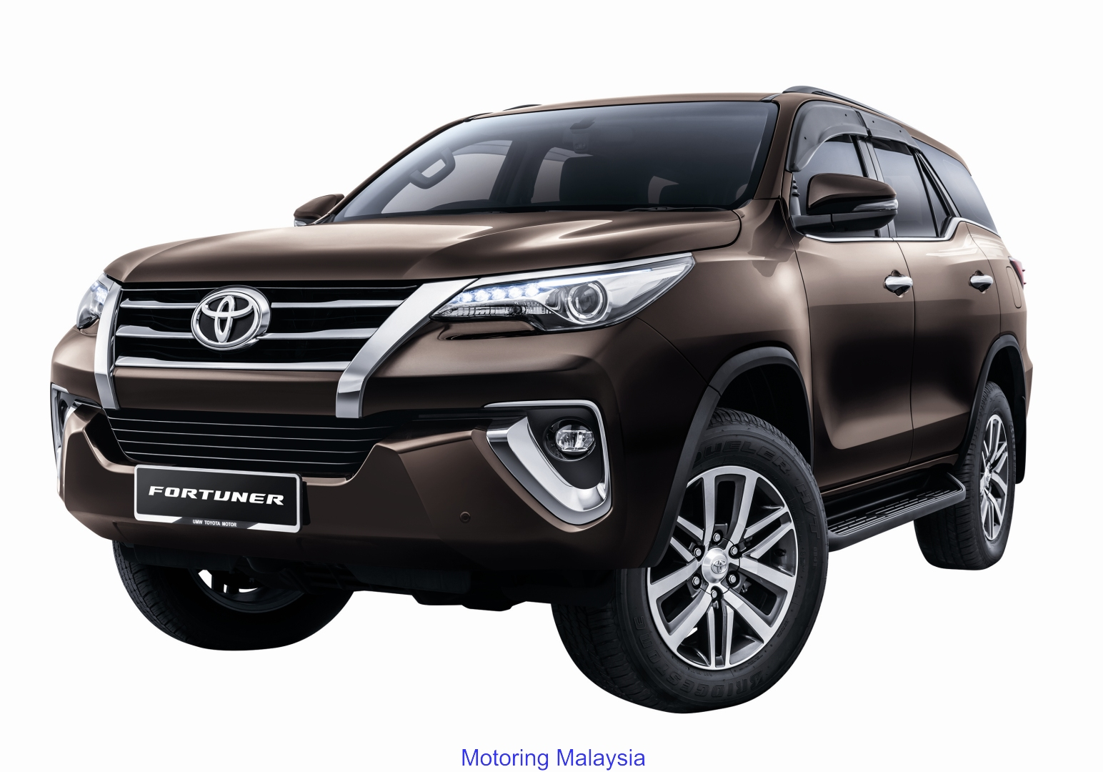 Motoring-Malaysia: The Toyota Fortuner and Innova Receives