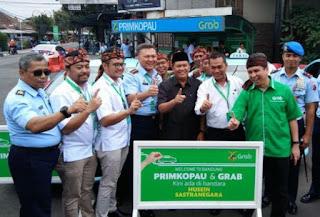 Taksi Online Grab Resmi Beroperasi di Bandara Husein Sastranegara Bandung
