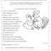 Ficha de leitura para alfabetização: O casamento do galo e da galinha