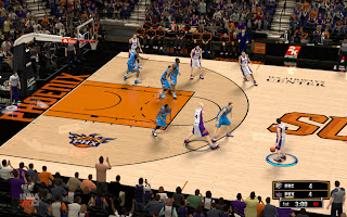 NBA 2K13 Phoenix Suns New Court 2012-2013 Season