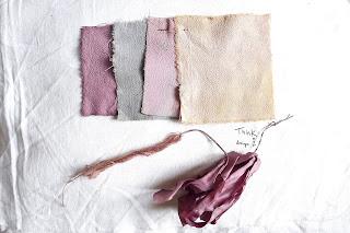 atelier teintures végétales Think knot coton, laine, soie 24 couleurs