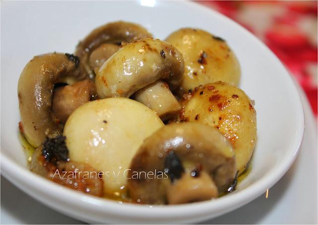 7 guarniciones perfectas para navidad azafranes y canelas - Guarniciones para carne en salsa ...