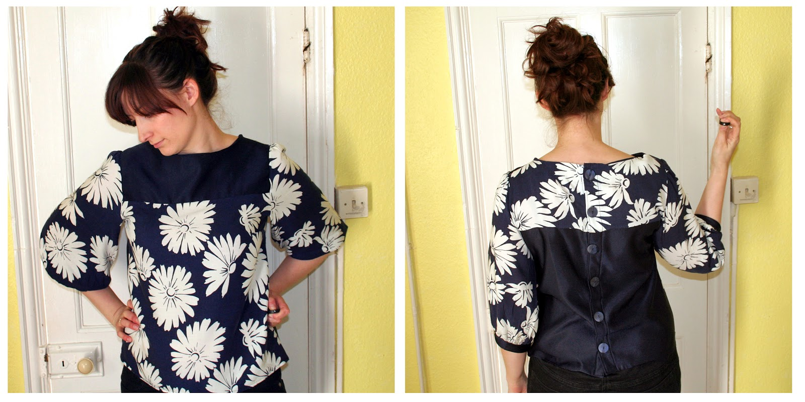 The Butterfly Balcony - Bank holiday Sewing - Mathilde Blouse Finished
