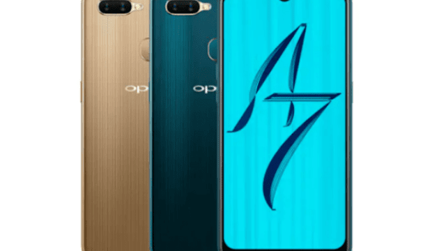 Oppo A7 Launched with Waterdrop Notch Display and 4230mAh Battery 1