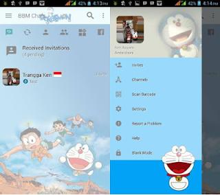BBM Doraemon Full Anime Karakter Apk