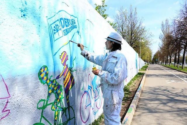 В Уфе появится 40-метровое граффити