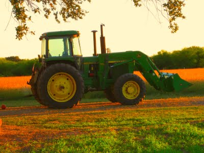 Cowboys Do It Best Take You For A Ride On My Big Green Tractor