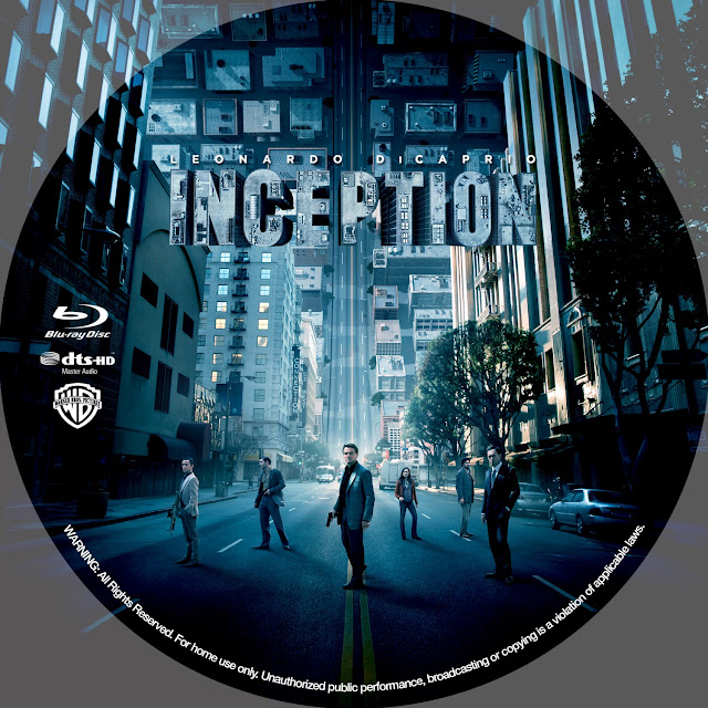 Inception Bluray Label