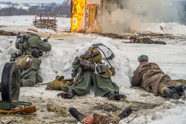 Реконструкция боя при Соколово 9.03.2018 - 38