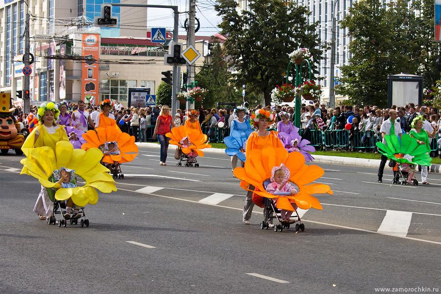 Дети цветы жизни. Празднование тысячелетия единения мордовского народа с народами России