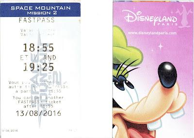 Disneyland vstupenka a Fastpass