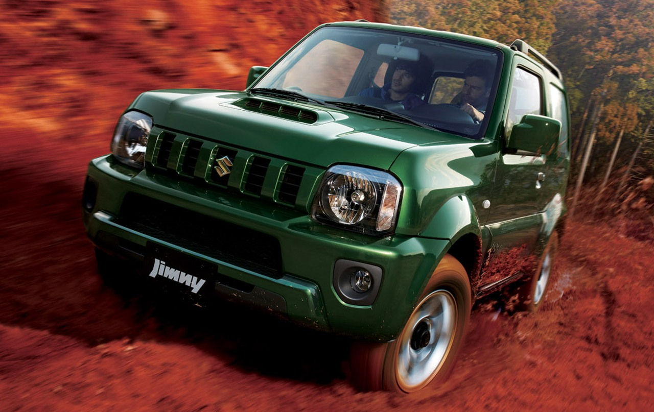 New Jimny 2013 - The new old dogs ~ automotive|car|manufacture