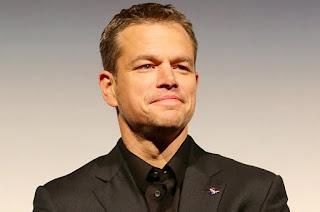 Matt Damon đứng vị trí thứ 3