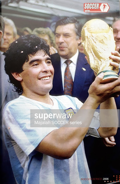 PIN UP MARADONA OF ARGENTINA
