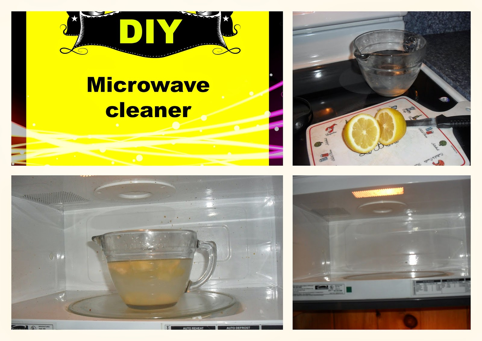 Diy Microwave All Natural Cleaner