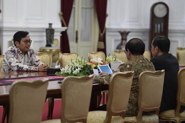 CEO Bukalapal Bertemu Presiden Joko Widodo di Istana