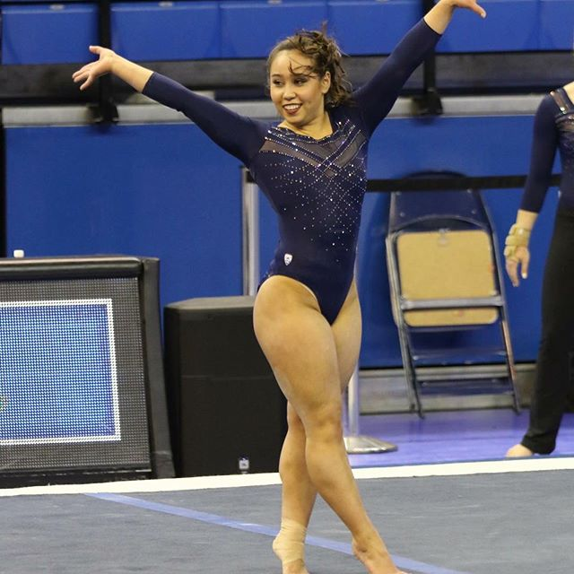 college gymnastics meet results