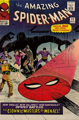 Amazing Spider-Man #22, the Circus of Crime return, now led by The Clown
