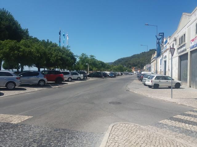 Zona de Estacionamento grátis