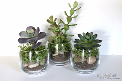 http://myhusbandhastoomanyhobbies.com/2016/04/dollar-store-faux-succulent-planters.html