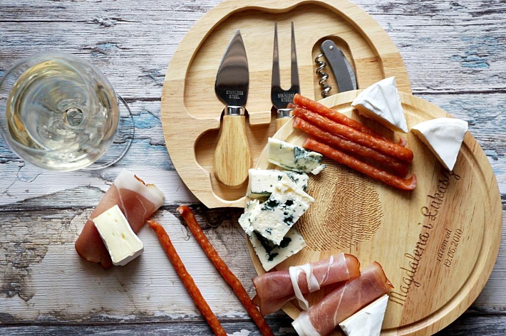MygiftDNA deska do serów jedzenie food prezent