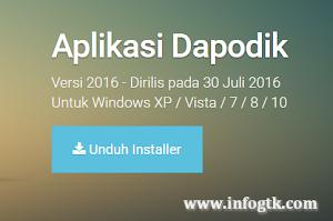 Download Dapodik Terbaru 2016 2017
