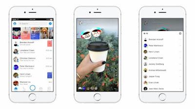 فيس بوك تتيح مشاهدة قصص ماسنجر عبر موقع Messenger.com