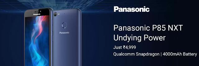 Panasonic P85 NXT 2 GB Ram 16 GB Internal Storage