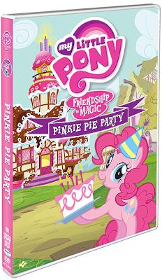 Pinkie Pie Party DVD