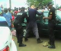 Self-professed pastor arrested for robbery [stolen car]