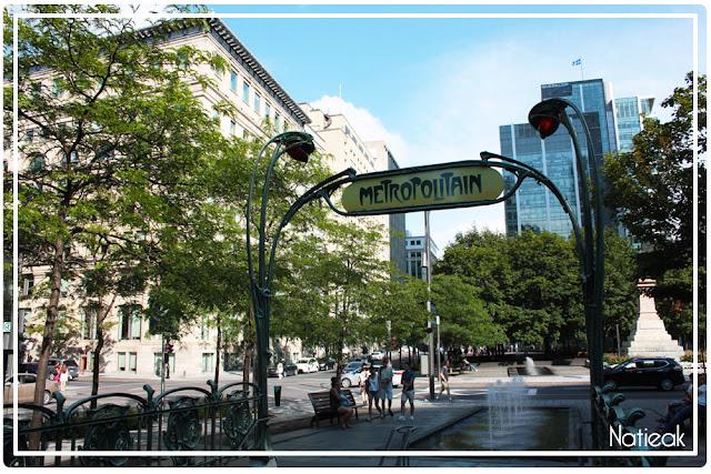 Station de métro Square Victoria Montréal