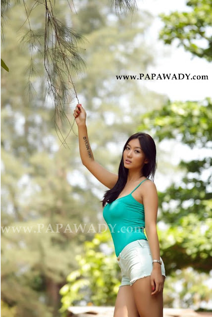 Lu Lu Aung - Nature and Beauty of Myanmar Model Girl
