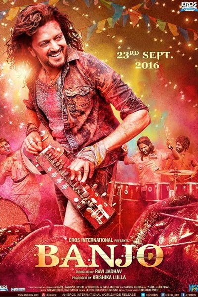 Poster Of Hindi Movie Banjo 2016 Full HD Movie Free Download Watch Online