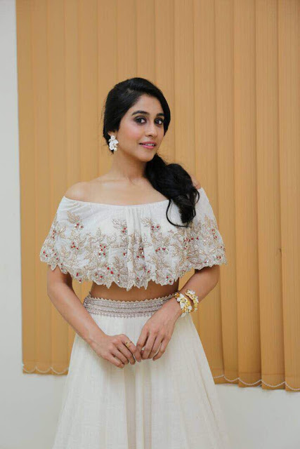 Regina Cassandra At Suruli Raajanum Audio Launch Stills