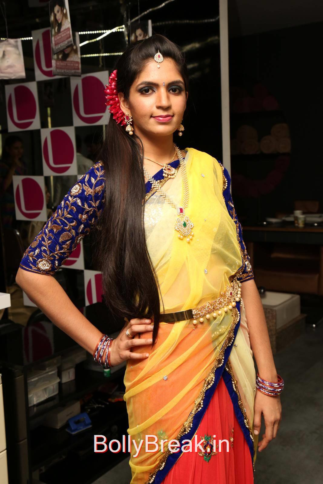 Anusha Pictures, Anusha Hot Pics from Bridal Dream Make up At Lakme Salon
