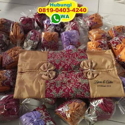 souvenir tempat tisu batik 52280