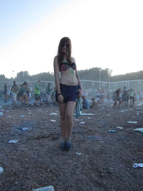 Holi Festival of Colours Saarbrücken andysparkles Andrea Funk Blogger Influencer