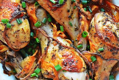 Kurczak w słodko-ostrej marynacie